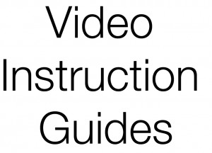 video instruction guides-1